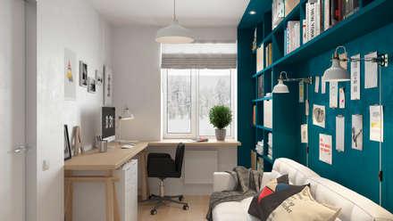 ห้องทำงาน/อ่านหนังสือ by Anastasya Avvakumova