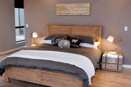 Dormitorios de estilo rústico por Urban Habitat Architects