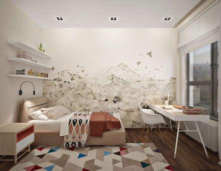 Дизайн-проект апартаментов в Фили град: Детские комнаты в . Автор – GM-interior