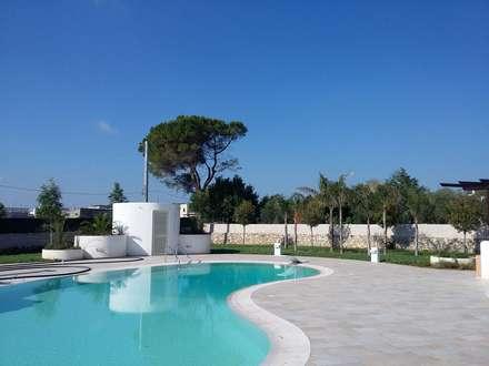 Giardini in stile mediterraneo idee ispirazioni homify for Progetto giardino mediterraneo