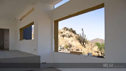 Casa Sotomayor: Comedores de estilo moderno por Arq6.0