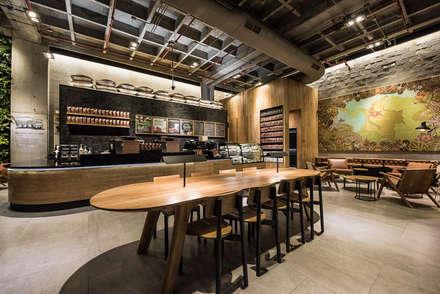 Para trabajar: Oficinas y Tiendas de estilo  por Perceptual