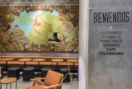 Para un descanso: Oficinas y Tiendas de estilo  por Perceptual