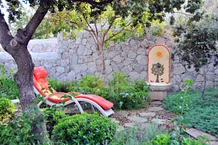 moderner Garten von Ebru Erol Mimarlık Atölyesi