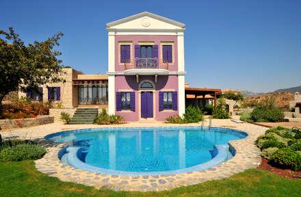 mediterranean Pool by Ebru Erol Mimarlık Atölyesi