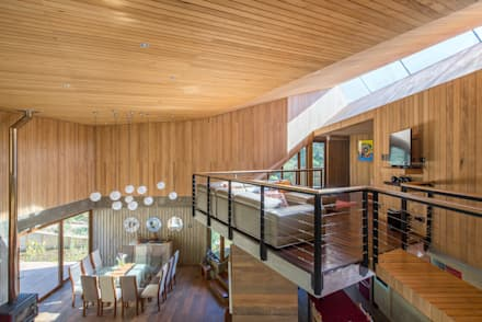 Casa El Maqui: Livings de estilo moderno por GITC