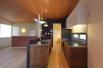 キッチン: 平林繁・環境建築研究所が手掛けたキッチンです。