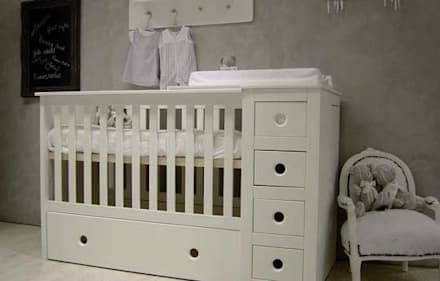 3 in 1 Cot bed:  Baby room by Funique Furniture