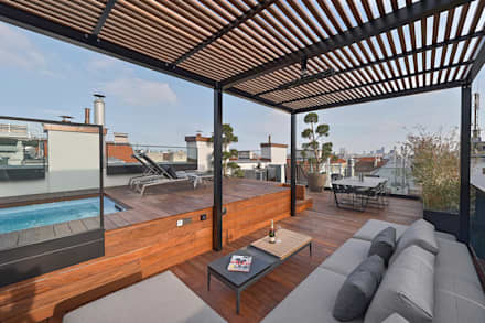 modern Pool by FADD Architects