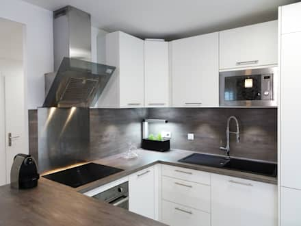 kitchen interior design ideas inspiration pictures homify. Black Bedroom Furniture Sets. Home Design Ideas