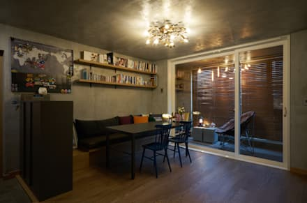 modern Dining room by 공상플래닛