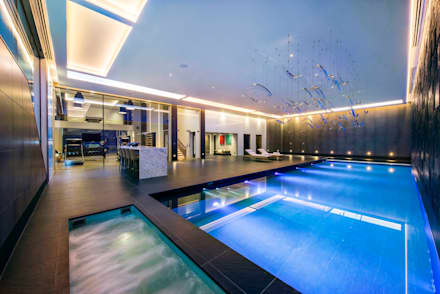Swimming Pool : modern Pool by KSR Architects