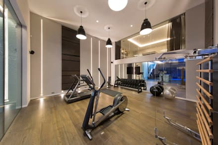 Gym: modern Gym by KSR Architects