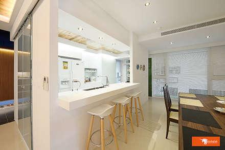 璞玉-Salim's House:  餐廳 by Unicorn Design