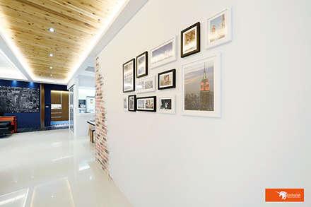 璞玉-Salim's House:  牆壁與地板 by Unicorn Design