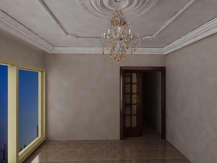 تشطيب فيلا المعادي:  غرفة نوم تنفيذ الرواد العرب