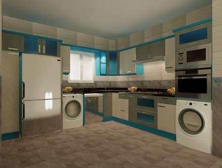 تشطيب شقة :  مطبخ تنفيذ الرواد العرب