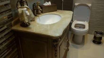 تشطيب شقة :  حمام تنفيذ الرواد العرب