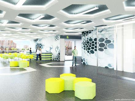 Концепт решение общественной зоны в ТРЦ, в Уфе: Торговые центры в . Автор – A&D-interior