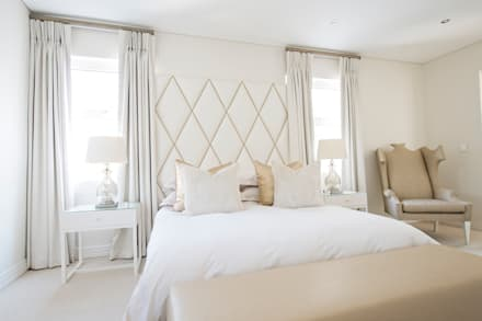 Guest Bedroom: modern Bedroom by Tru Interiors