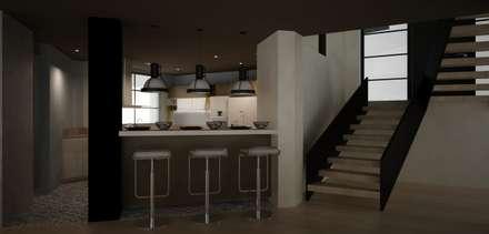 CASA DEL TREBOL: Comedores de estilo moderno por santiago dussan architecture & Interior design