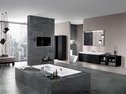 Badezimmer Ideen, Design Und Bilder | Homify Moderne Badezimmer Bilder
