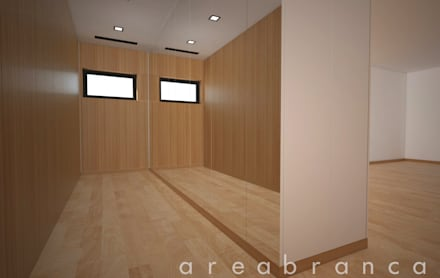 Suite   Closet: Closets modernos por Areabranca