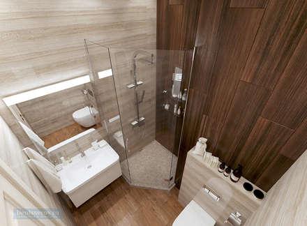 Baños de estilo clásico por Студия интерьера Дениса Серова