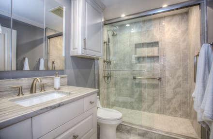 Luxury Master Bath: classic Bathroom by Dahl House Design LLC