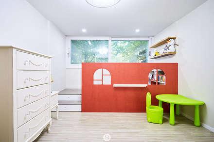 #늘 집에 머물고 싶게 만드는. .34평 리모델링 리뷰 : 제이앤예림design의  아이방