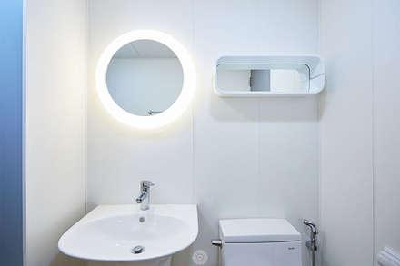 #늘 집에 머물고 싶게 만드는. .34평 리모델링 리뷰 : 제이앤예림design의  욕실