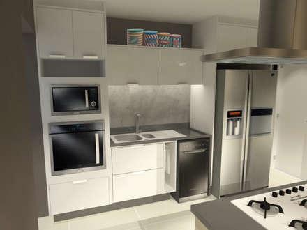 : Cozinhas modernas por LILIAN FUGITA ARQUITETURA