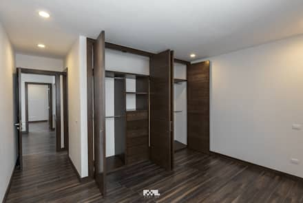 minimalistic Dressing room by 2M Arquitectura