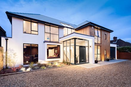 OATLANDS DRIVE: modern Houses by Concept Eight Architects