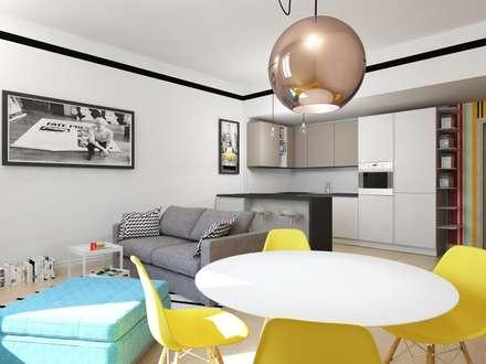 APPARTAMENTO GIOVANE IN CARRIERA: Cucina in stile in stile Eclettico di CT home