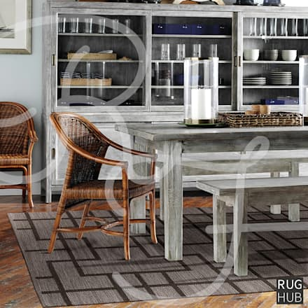 Friday 20th Jan -  Home Inspiration: rustic Dining room by Rug Hub