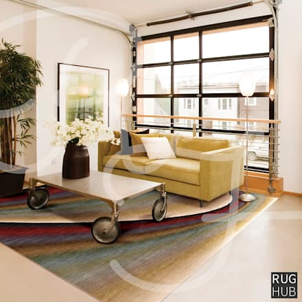 Friday 20th Jan -  Home Inspiration: rustic Living room by Rug Hub