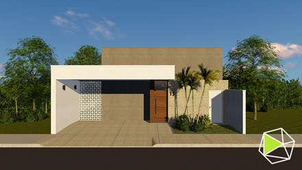 Residencial: Casas modernas por Rafael Caldeira Arquitetura
