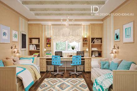 classic Nursery/kid's room by Студия дизайна Interior Design IDEAS