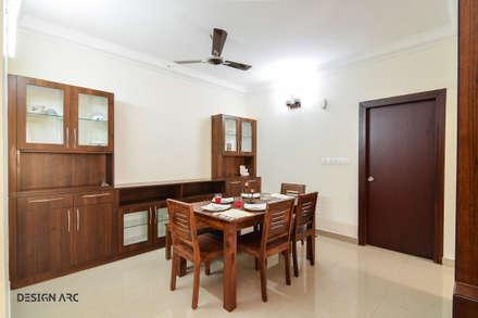 Salas / recibidores de estilo asiático por Design Arc Interiors