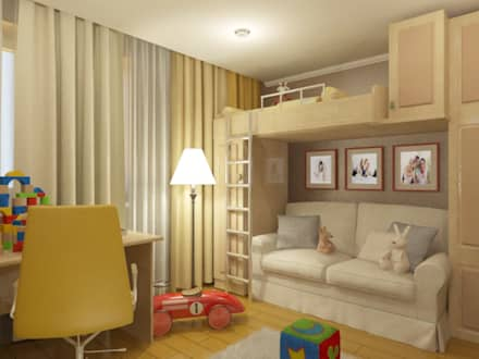 modern Nursery/kid's room by Первое Дизайн-Бюро