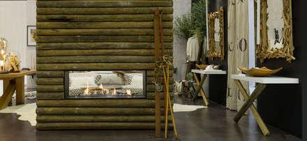 Suite numa casa de montanha: Quartos campestres por Margarida Bugarim Interiores