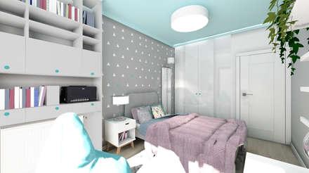 rustic Nursery/kid's room by Kołodziej & Szmyt Projektowanie wnętrz
