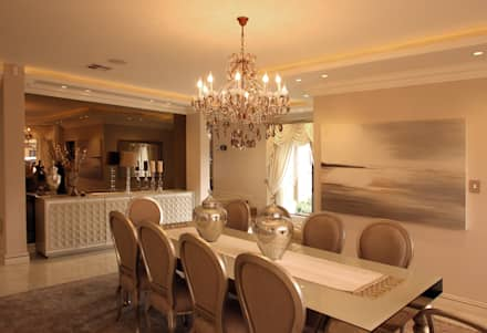 Ebotse Estate: classic Dining room by Tru Interiors