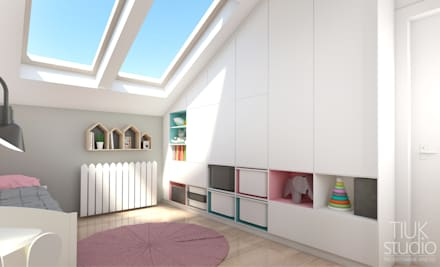 scandinavian Nursery/kid's room by TIUK Studio