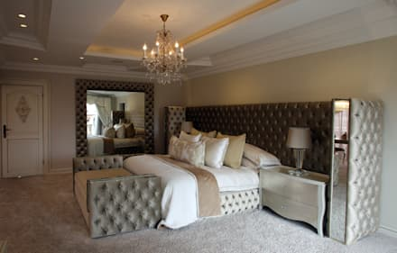 Main bedroom: classic Bedroom by Tru Interiors