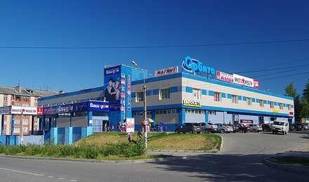Монтаж вентилируемого фасада: Торговые центры в . Автор – Строительная Компания 'МЕГАРУФ'