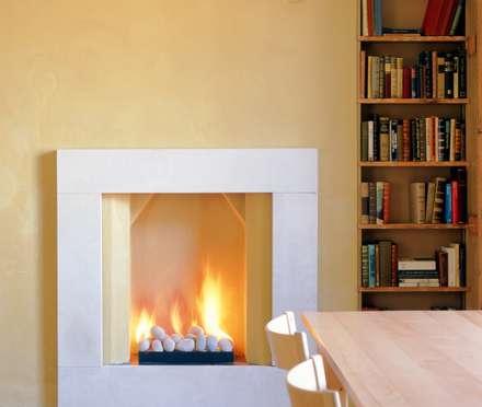 Bespoke Fireplaces: modern Dining room by The Platonic Fireplace Company