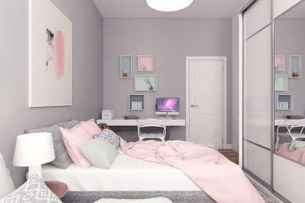 Modern apartment - Istanbul 2016: modern Bedroom by Ammar Bako design studio