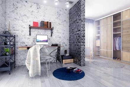 Industrial Bedroom   Russia 2014: Industrial Bedroom By Ammar Bako Design  Studio